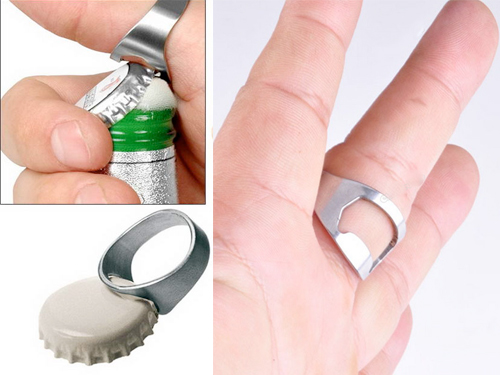 Δαχτυλίδι Ανοιχτήρι Μπύρας!