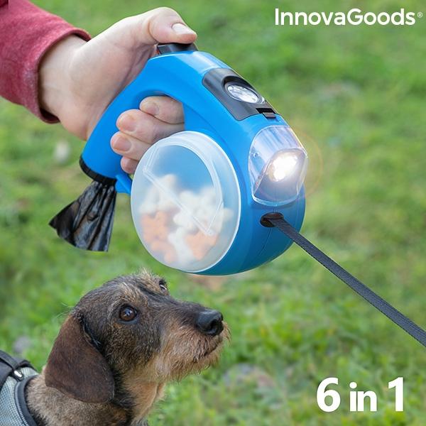 Επεκτάσιμο λουρί για σκύλους 6σε1!