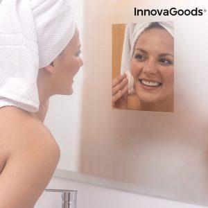 Πρακτικό αντιθαμβωτικό φύλλο για καθρέφτη! (2 τεμάχια)
