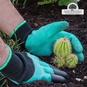 Γάντια Κηπουρικής Με 4 Νύχια Για Σκάψιμο!