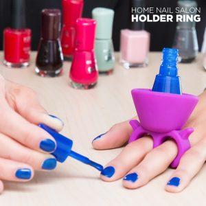 Δαχτυλίδι - βάση στήριξης για βερνίκι νυχιών!
