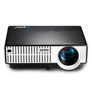 Vivibright Projector HDMI VGA 1080P HD!