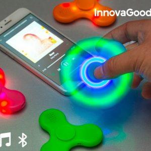 Spinner LED με ηχείο και Bluetooth!